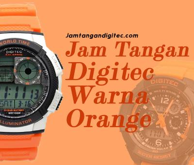 8 Jam Tangan Digitec Warna Orange Terfavorit, Kalian pilih Mana ?