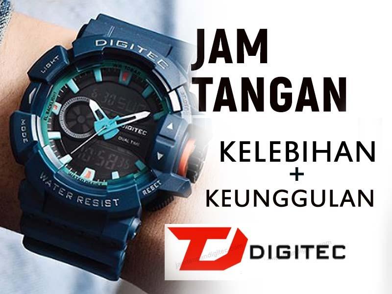 Kualitas Jam tangan Digitec!! Tangguh walau Terjangkau