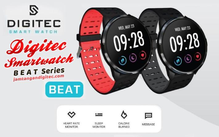 Review Jam Tangan Digitec Smartwatch Beat