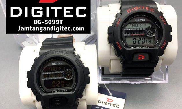 Review Jam Tangan Digitec DG-5099T Detail Foto + Ukuran Lengkap